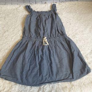 3/$15 American Living denim sleeveless dress sz 6X